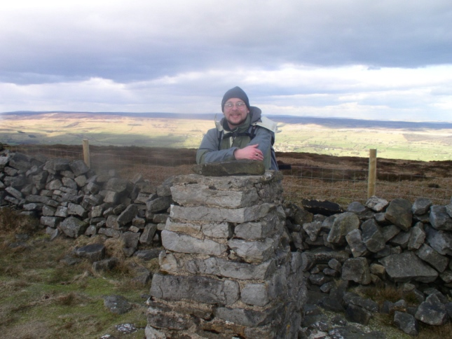 On my first visit to the Penhill trig point in 2005