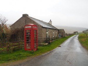 The valley phone box
