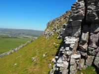 The limestone crags of Addlebrough