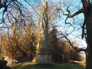 The Obelisk at the top of Studley Park