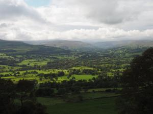 Super view of Wensleydale from Redmire Scar