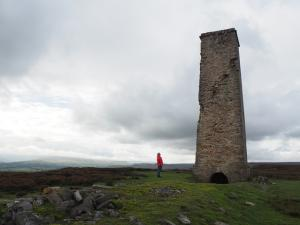 The chimney above Cobscar Mill