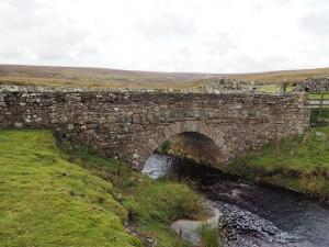 The bridge over Apedale Beck