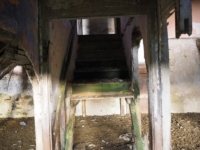 The remains of the staircase in Low Ash Head