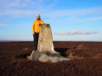 By the Sandy Hill trig point
