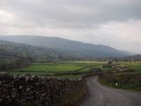 Looking down Dentdale towards Middleton Fell