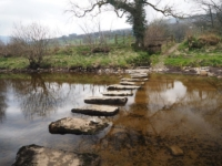 Time to re-cross the stepping stones