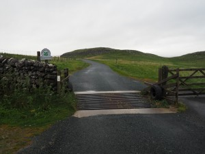 Langscar Gate with Lang Scar beyond