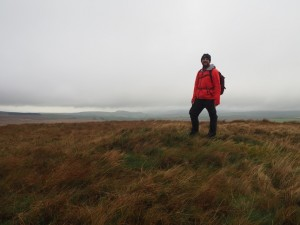 On the unmarked top of Black Hill
