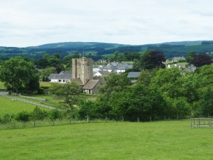 Looking back towards Barbon