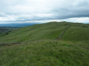Looking back at Barbon Low Fell