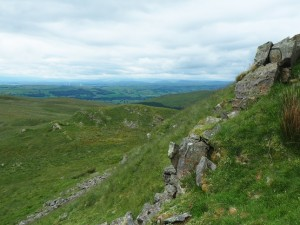 A crag below Hoggs Hill