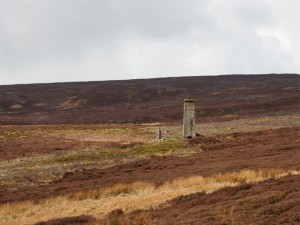 The chimney at Gill Beck Head