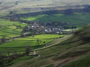 Looking back down to Kettlewell