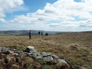 Heading from the top of Birks Fell to Birks Tarn