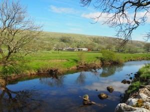 The River Wharfe and Starbotton