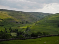 The valley of Cowside Beck
