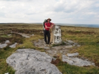 By the Firth Fell trig point