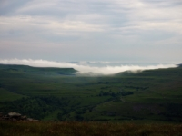 A brief temperature inversion over the Kidstones Pass
