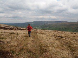 Descending back down in to Bishopdale