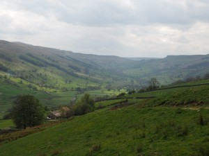 Looking back up Bishopdale