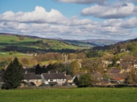 The super view of Pateley Bridge from the cemetary