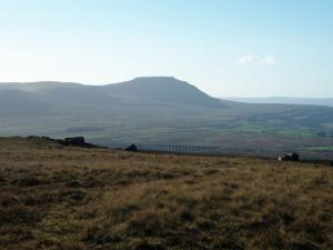Ingleborough from Blea Moor