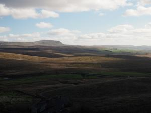 Pen-y-ghent and upper Ribblesdale