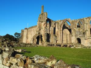 The priory ruins