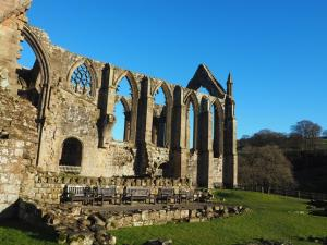 Another view of the priory ruins