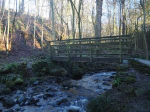 Footbridge over Pickles Beck