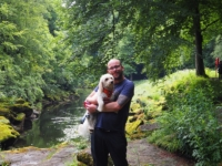 Me and Barry at The Strid