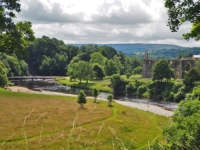 Another view of Bolton Abbey, aka Bolton Priory