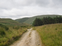 The track to Bowderdale