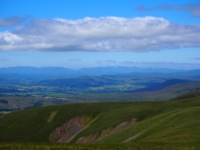 A view of the Lakeland Fells from The Calf