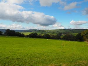 View of Nidderdale from across North Pasture