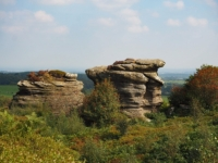 Some gritstone tors at Hare Heads