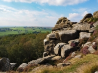 The jumble of rocks at Surprise View