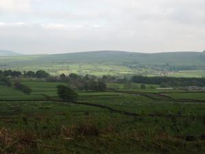 Looking across to Draughton