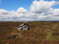 The small cairn on the top of Brown Haw