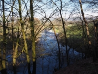 The River Rawthey from the bridleway