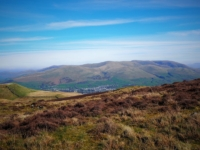 Sedbergh and the Howgill Fells from Brown Knott