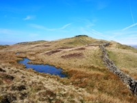 A small pool on the way to Holme Knott