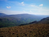 A view of Dentdale and Aye Gill Pike