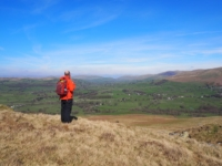 Enjoying the view of Lunesdale
