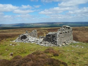 The ruin on Wasset Fell