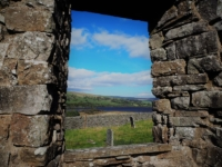 A glimpse of Semerwater from the old church