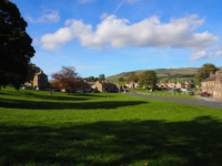 The lovely village green at Bainbridge