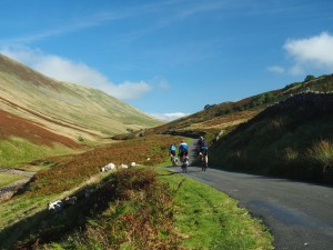 Cyclists in Barbondale