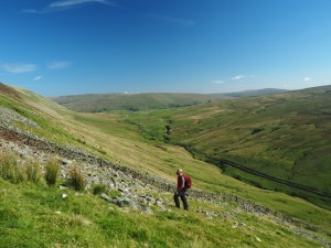 Climbing up above upper Barbondale